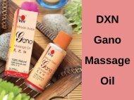 DXN Gano Massage Oil