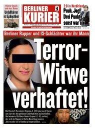 Berliner Kurier 10.09.2019