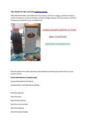 FREE ONGKIR WA 0852 1533 9500 xamthone manggis