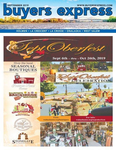 Buyers Express - La Crosse Edition - September 2019