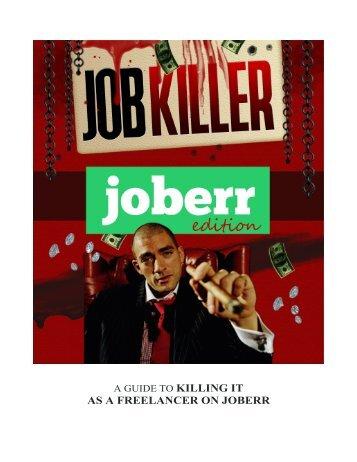 Job Killer - Make Money as a Feelancer on Joberr