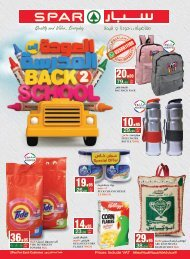 SPAR flyer from 11th to 17th Sep