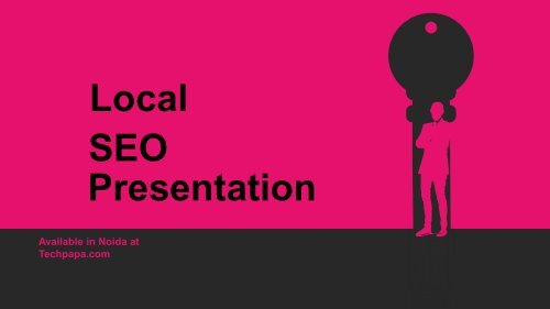 Local SEO services for small business
