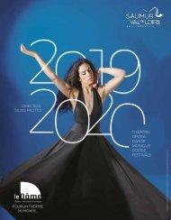 Brochure saison culturelle  2019-2020