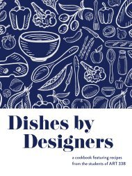 Dishes by Designers