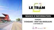 Support de présentation Tramardent - tronçon Standard - Pont des Modeleurs