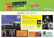Kunstausstellung Schätzli Ettingen