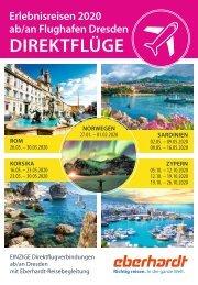 Charterheft 2020 – Direktflüge ab/an Dresden