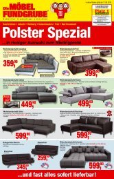 Die Möbelfundgrube - Polster Spezial
