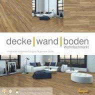 dwb Produktinformation VinylBoden Kollektion EcoLine Tegernseer Eiche