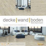 dwb Produktinformation VinylBoden Kollektion EcoLine Weisskiefer rustikal