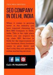Best SEO Company in Delhi, India