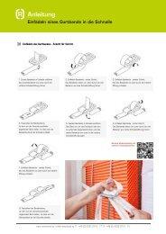 Anleitung: Einfädeln eines Gurtbands in die Schnalle