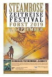 Steamrose Zeitreise Festival Forst 2019