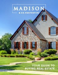 Madison Buyer Resource Guide