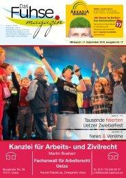 Fuhse-Magazin 17/2019