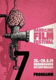 HARD:LINE Film Festival #7 - Programmheft