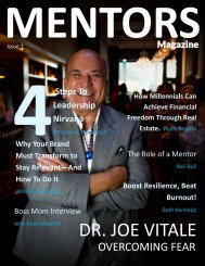 MENTORS Magazine: Issue 1