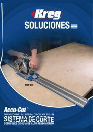 Catálogo Kreg Tool 2019