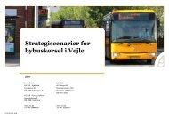 Strategiscenarier for bybuskørsel i Vejle (Vejle Kommune i samarbejde med Sydtrafik 2019)