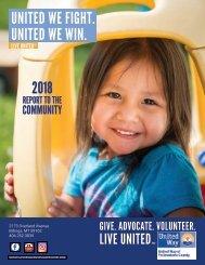 UWYC 2018 Annual Report