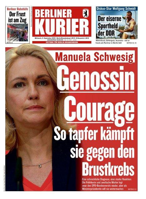 Berliner Kurier 11.09.2019