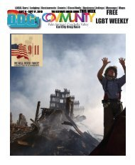 Sept 11 - sept 17 , 2019    The Ultimate queer guide to Palm Springs area WEEKLY edition