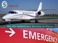 Take Benefit of Low-Budget Air Ambulance from Patna