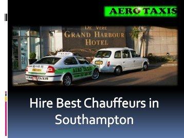 Hire Best Chauffeurs in Southampton