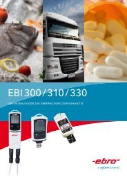EBRO Datenlogger EBI 300 310 330