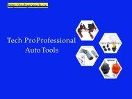Wide Varieties of Professional Mechanic Tools