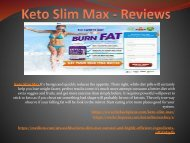 Keto Slim Max - Perfect Solution To Weight Lose