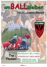 FC-Jugend-Magazin Ausgabe 1
