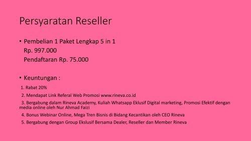 Call/WA 0811-757-815, Agen My Skincare Routine Rineva Bekasi