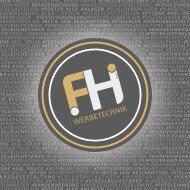 FH Werbetechnik Leistungsbroschüre 2019