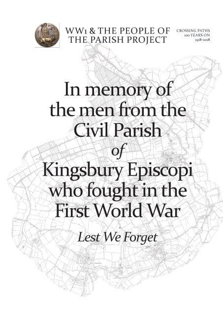 WW1 Kingsbury Episcopi