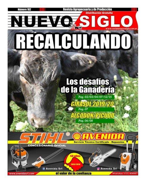 Revista Agropecuaria Nuevo Siglo 182