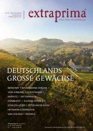 Extraprima Magazin 2019 September Deutschlands Grosse Gewächse