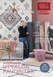 Matt-Tema, Nilssons i Svedala - Höstkatalog 2019