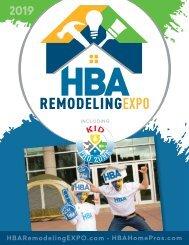 HBA Remodeling EXPO Magazine - 2019