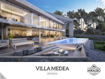 Villa MEDEA - Benissa Costa Blanca