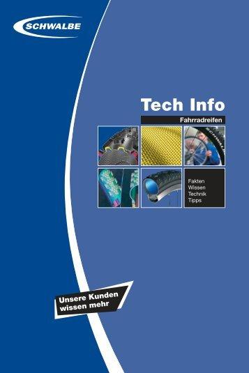 Tech Info - Schwalbe