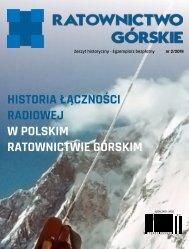 Historia Łączności Radiowej - Ratownictwo Górskie - Zeszyt Historyczny Nr 2/2019