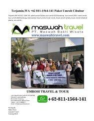 Terjamin,WA +62 811-1564-141 Paket Umroh Cibubur
