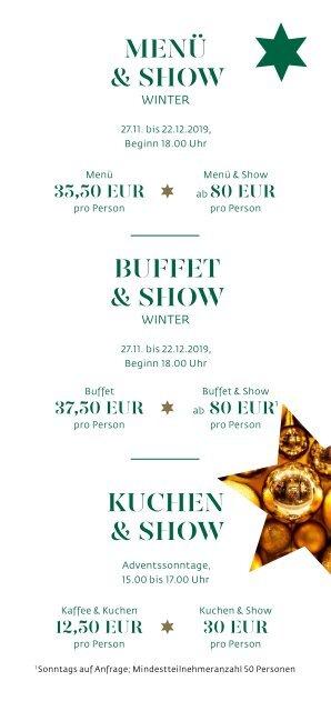 Herbst & Winter-Programm 2019/2020 im Estrel Berlin