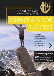 Essentials for Success booklet 19-20