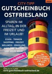 Gutscheinbuch 2020 Ostfriesland Plakat _A3_Hier_erhältlich