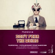 Dont fear the Weird_2019_Ipaper