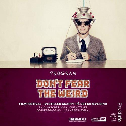 Dont fear the Weird_2019_Ipaper