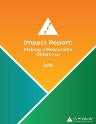 Impact Report: Making a Measurable Difference